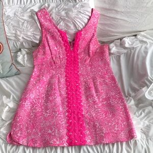 Lily Pulitzer Resort Style Pink Dress